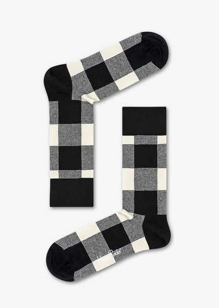 Lumberjack Sock Black Check