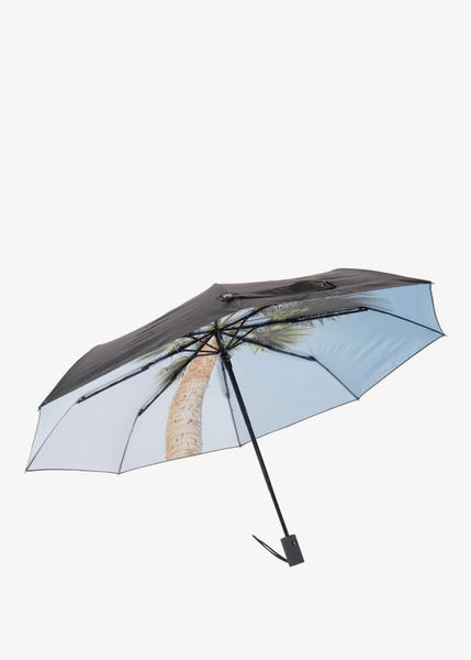 Vacation Umbrella Black/Palmtree