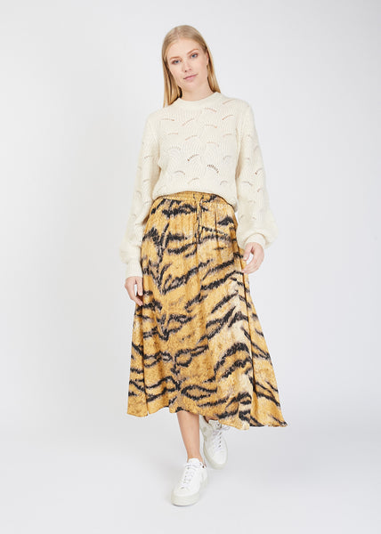 Belle Skirt Golden Hour Print