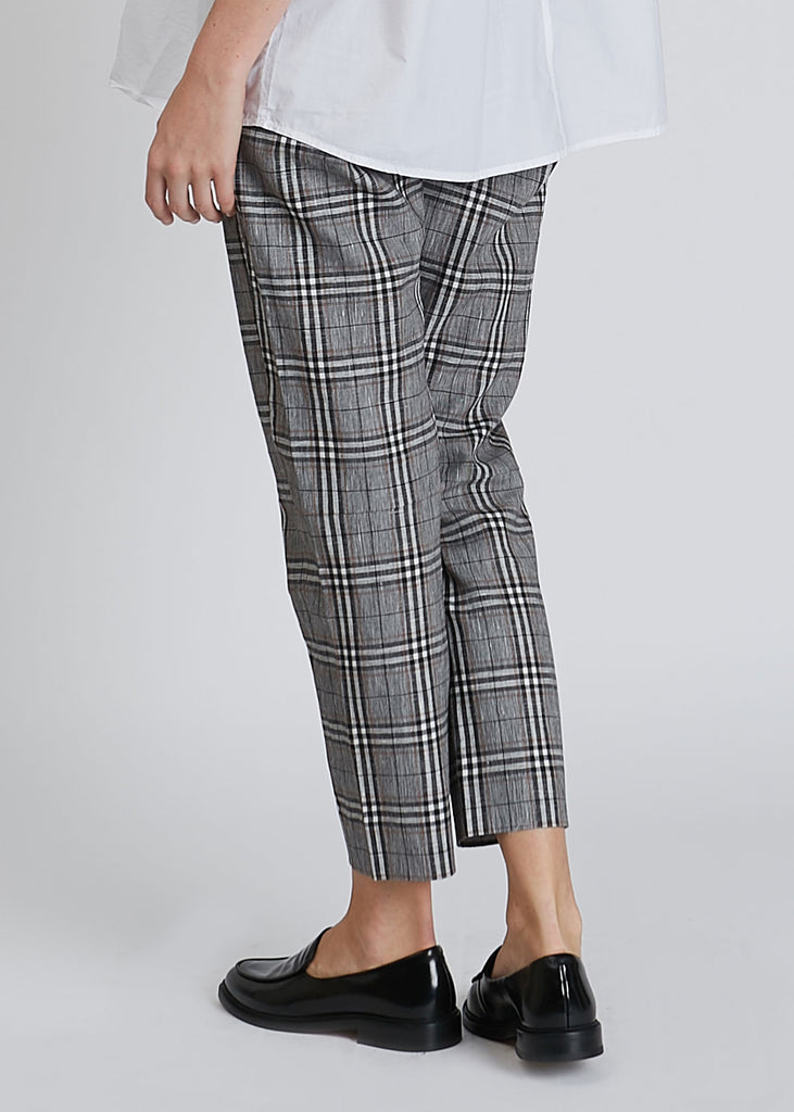 Krissy Trousers Grey Check