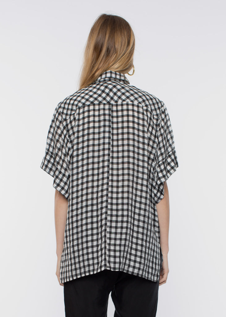 Buzz Shirt Black Check