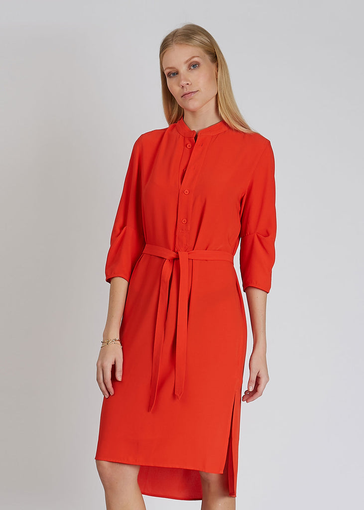 Flex Dress Bright Red