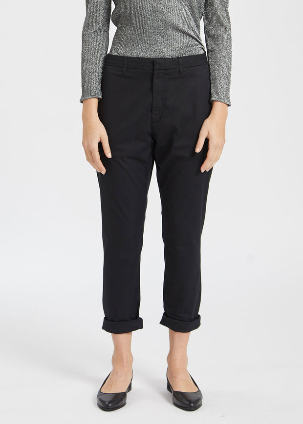 News Trousers Black