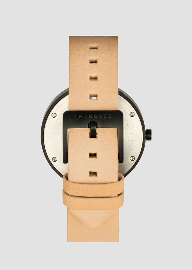 D-Series Watch Veg Tan/Black/Black Face Box Set