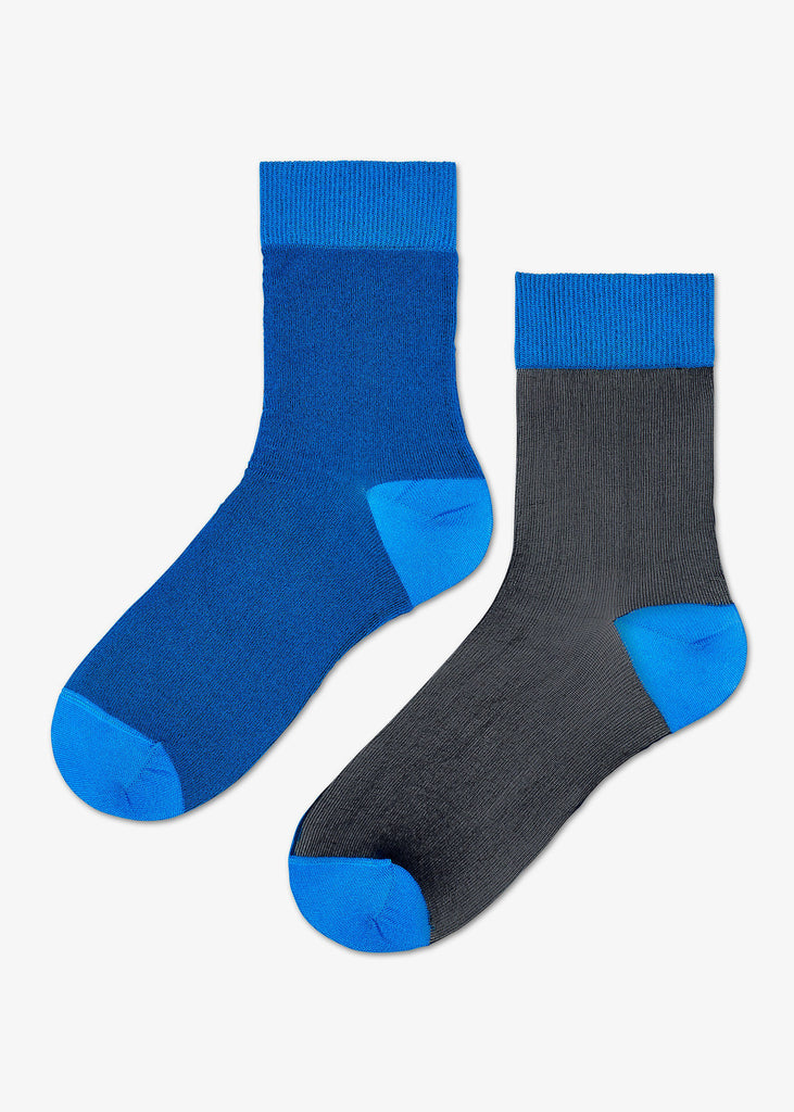Filippa Nylon Ankle Sock Blue