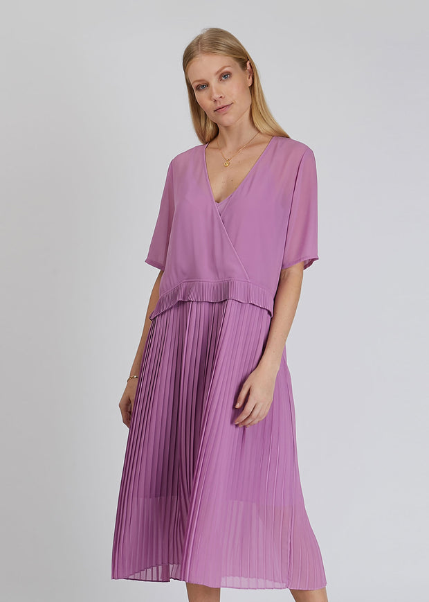 Jose Dress Iris Orchid