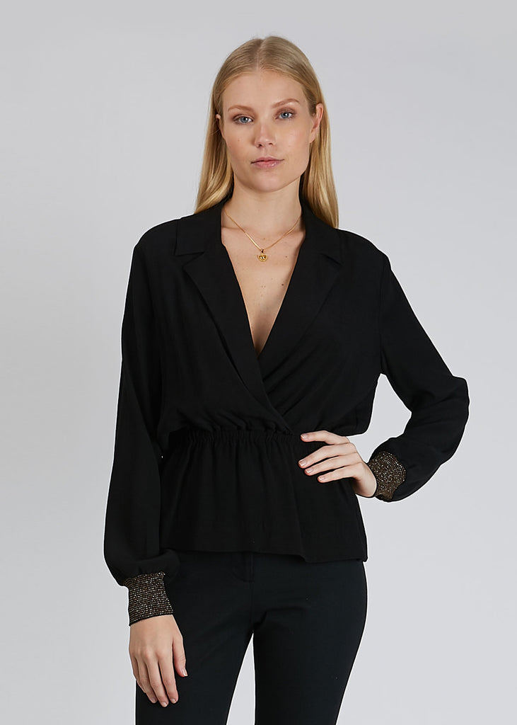 Lauren Blouse Black