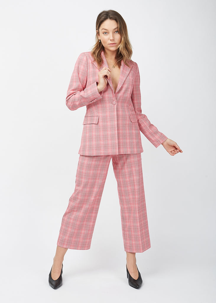 Maxime Trousers Rose Check