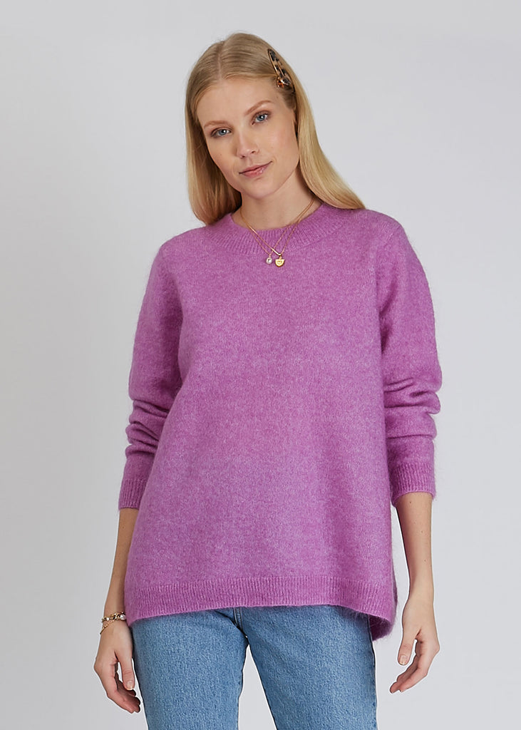 Thea Knit Iris Orchid