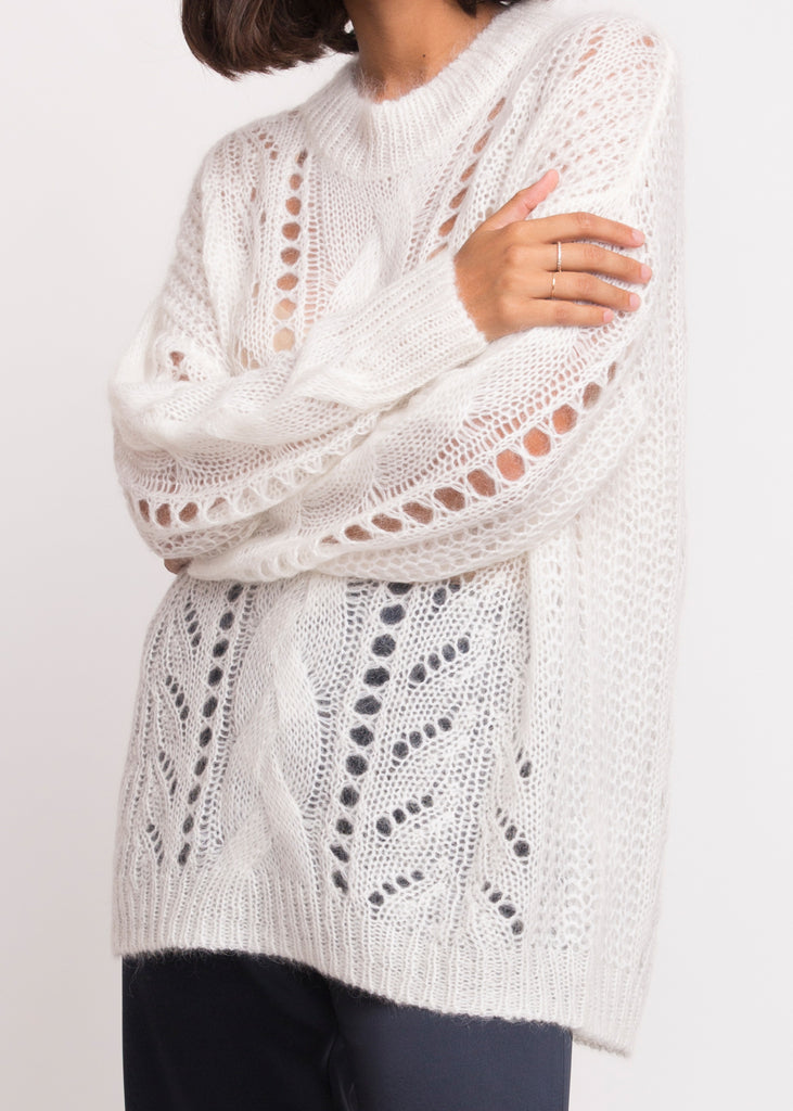 Dagmar Knit Bright White