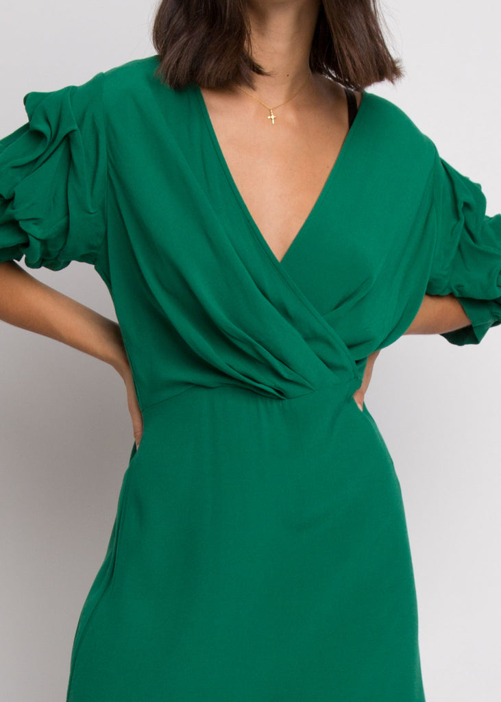 Irena Dress Green