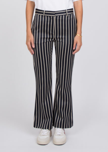 Laurent Trousers Blue White Stripe