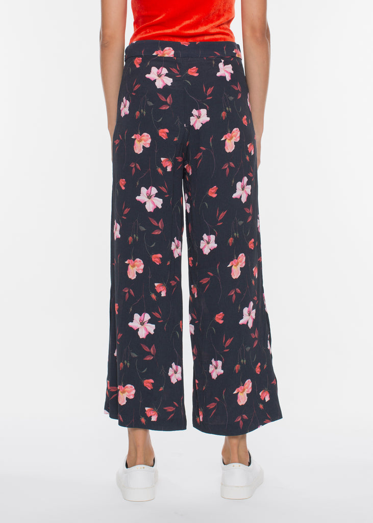 Olivia Trousers Roses AOP