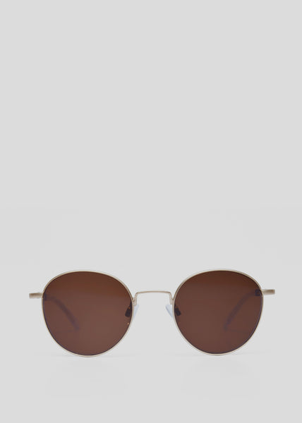 A Scandinavian in Scandinavia Sunglasses Gold/Blonde Kaibosh Mens Eyewear- someplace