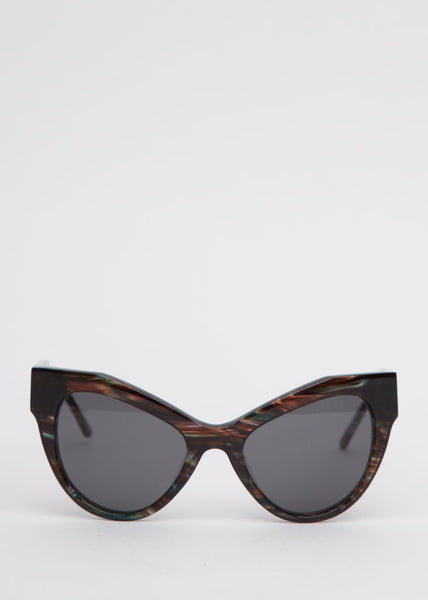 Dazed Darling Sunglasses Stormy Seaweed
