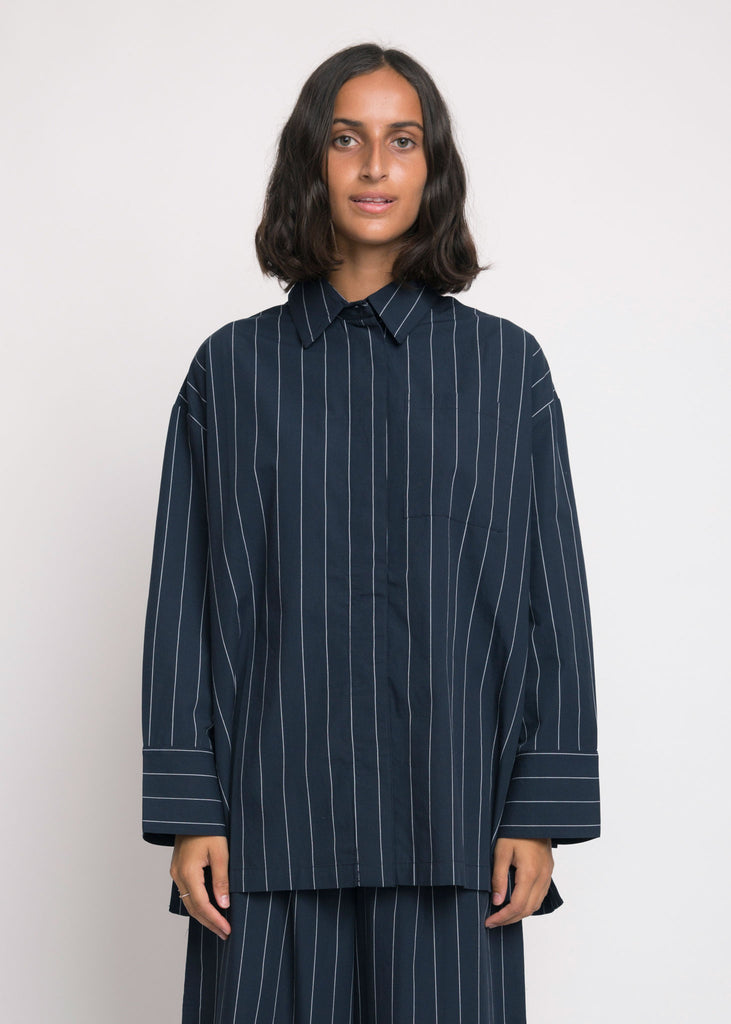 Lines Shirt Pin Stripe