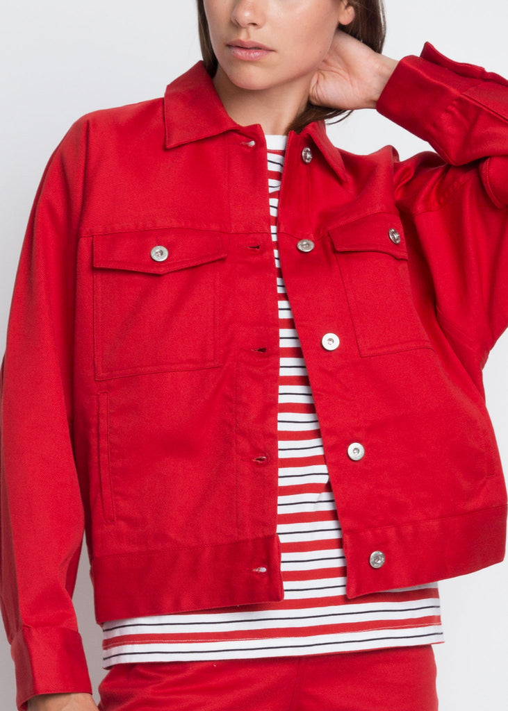 Formation Jacket Red