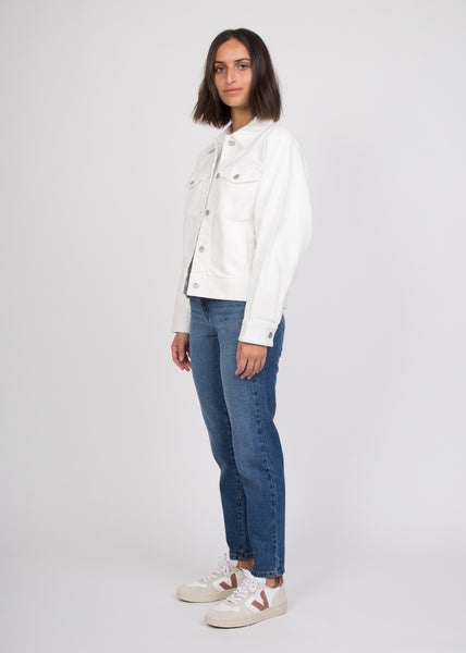 Formation Jacket Ecru Denim