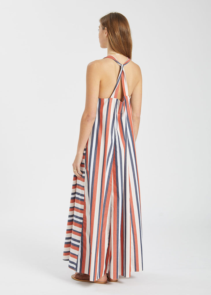 Riley Dress Parasol Stripe