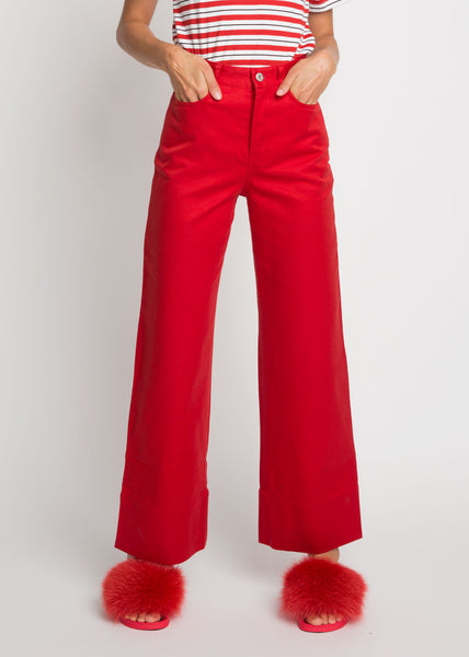 Stage Pants Red