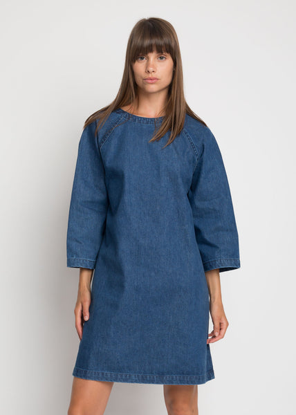 Technique Dress Denim