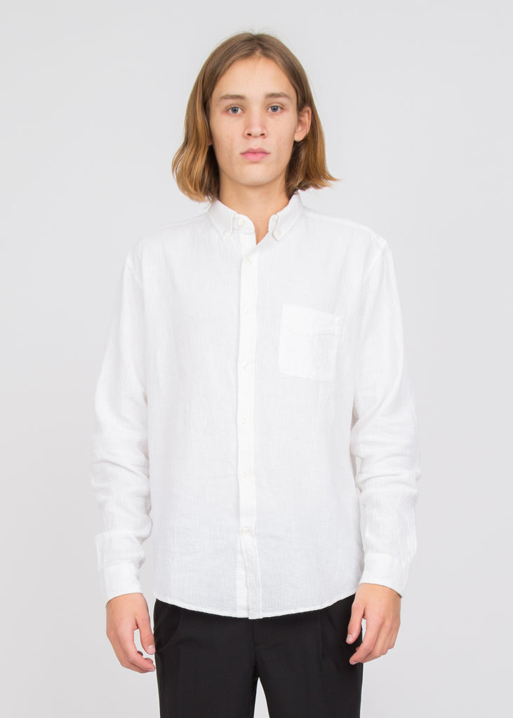Needs Crepe Shirt White