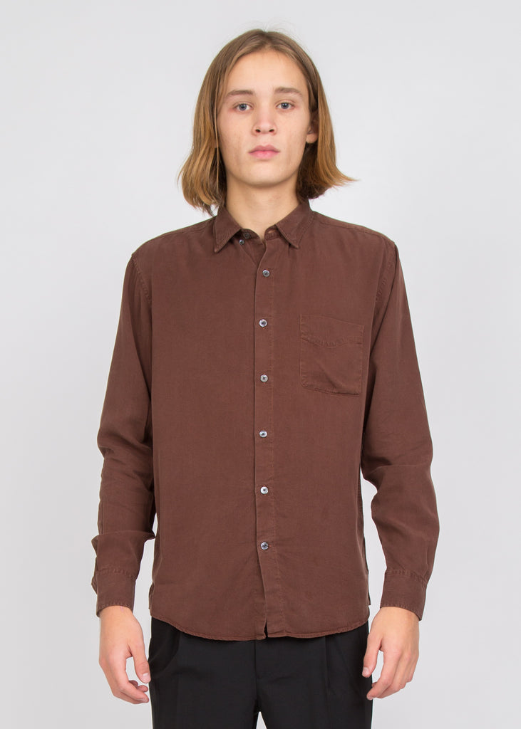 Original Tencel Shirt Brown