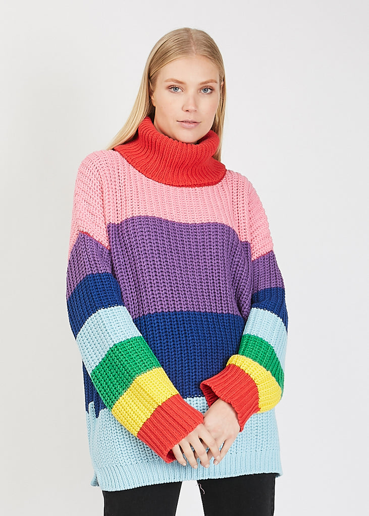 Rainbow Sweater Multi