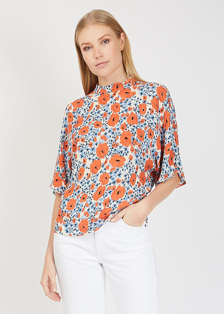 Tulum Blouse Silver Lake