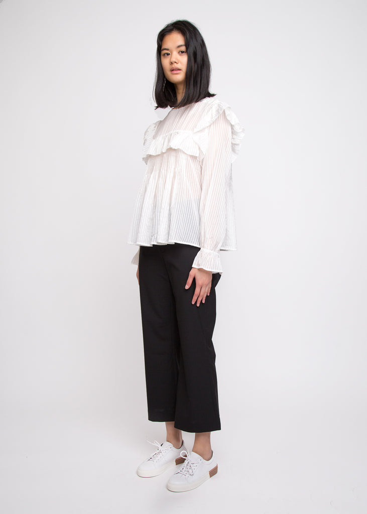 Charles Blouse White
