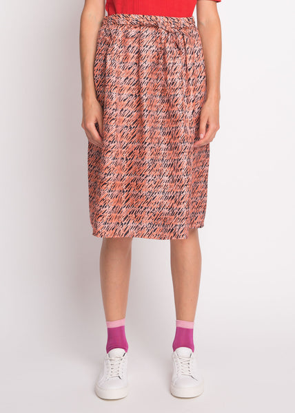 Lorita Skirt Deep Sea Coral