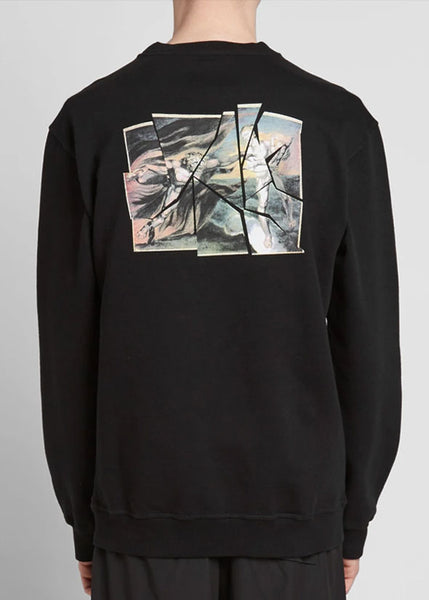 Heaven and Hell Crew Sweater Black