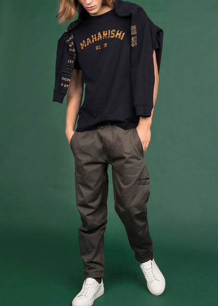 Miltype Woven Trackpants Olive