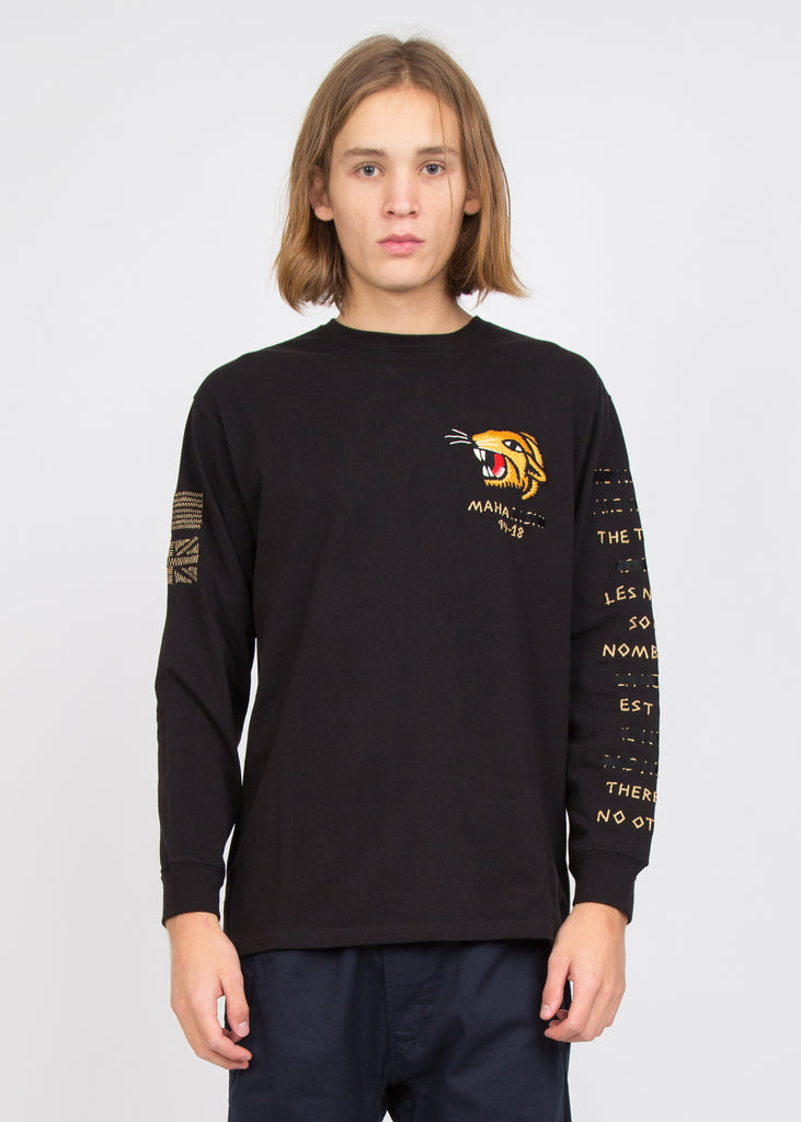 Redacted Tour Long Sleeve T-Shirt Black