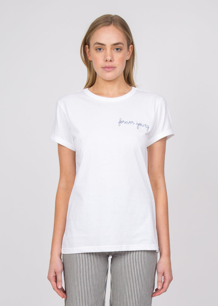 Forever Young T-Shirt White