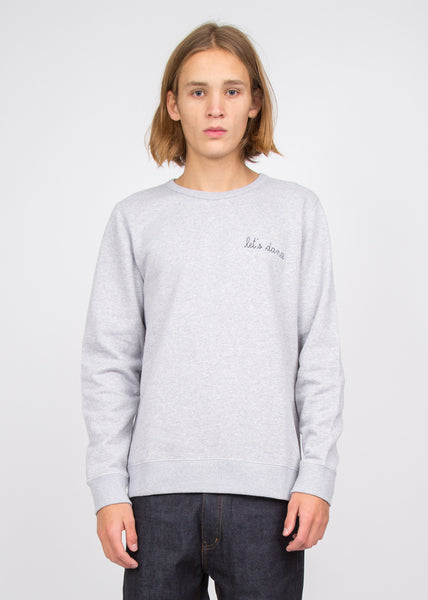 Let's Dance Sweatshirt Heather Grey