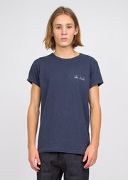 The Dude T-Shirt Heather Navy