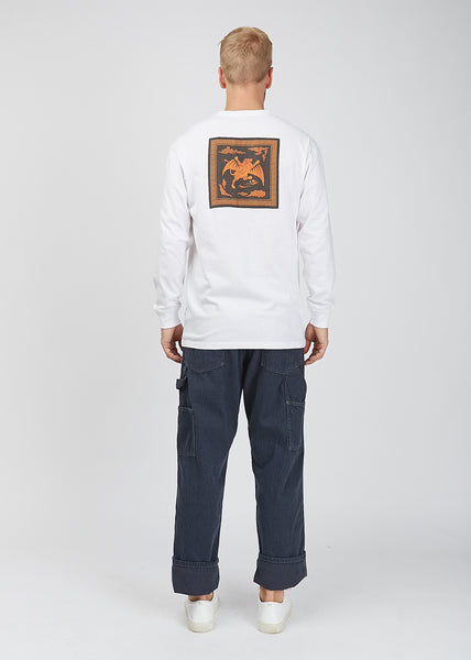Wise Tygers Long Sleeve T-Shirt White