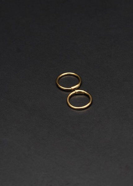 Basic Hoop XS Earring Gold