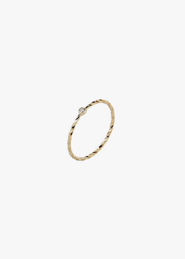 Jabari Ring 14 Karat Yellow Gold