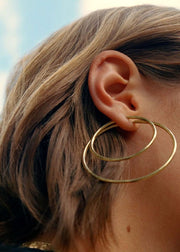 Senorita 50 Hoops Gold
