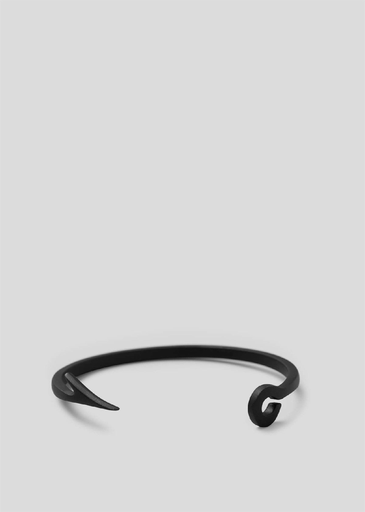 Fish Hook Cuff Matte Black