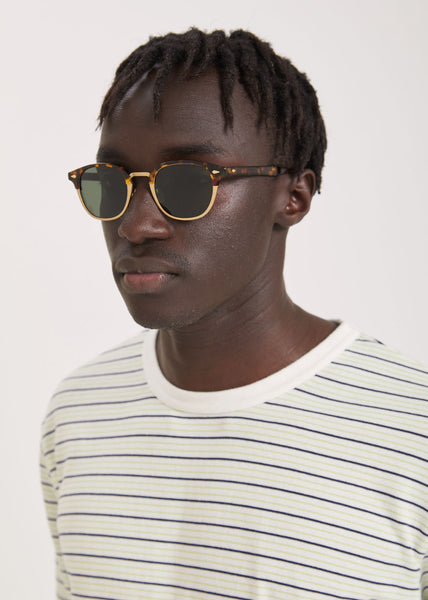 Lemtosh-Mac Sunglasses Tortoise/Matte Gold