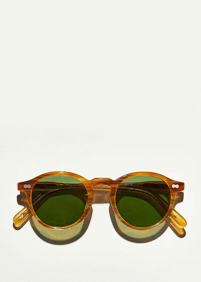 Miltzen Sunglasses Blonde Green