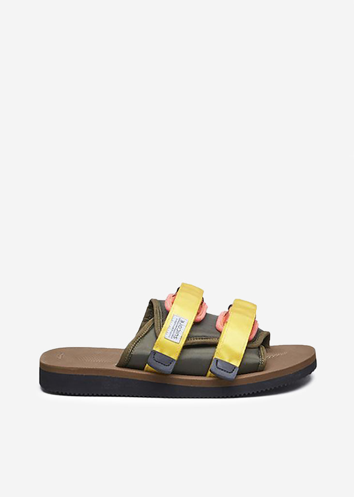 Moto-Cab Sandals Olive/Brown