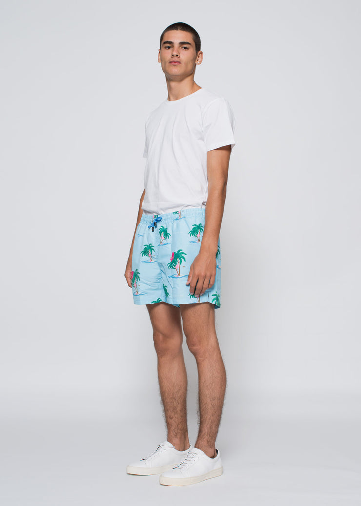 Magnum Swim Shorts Light Blue