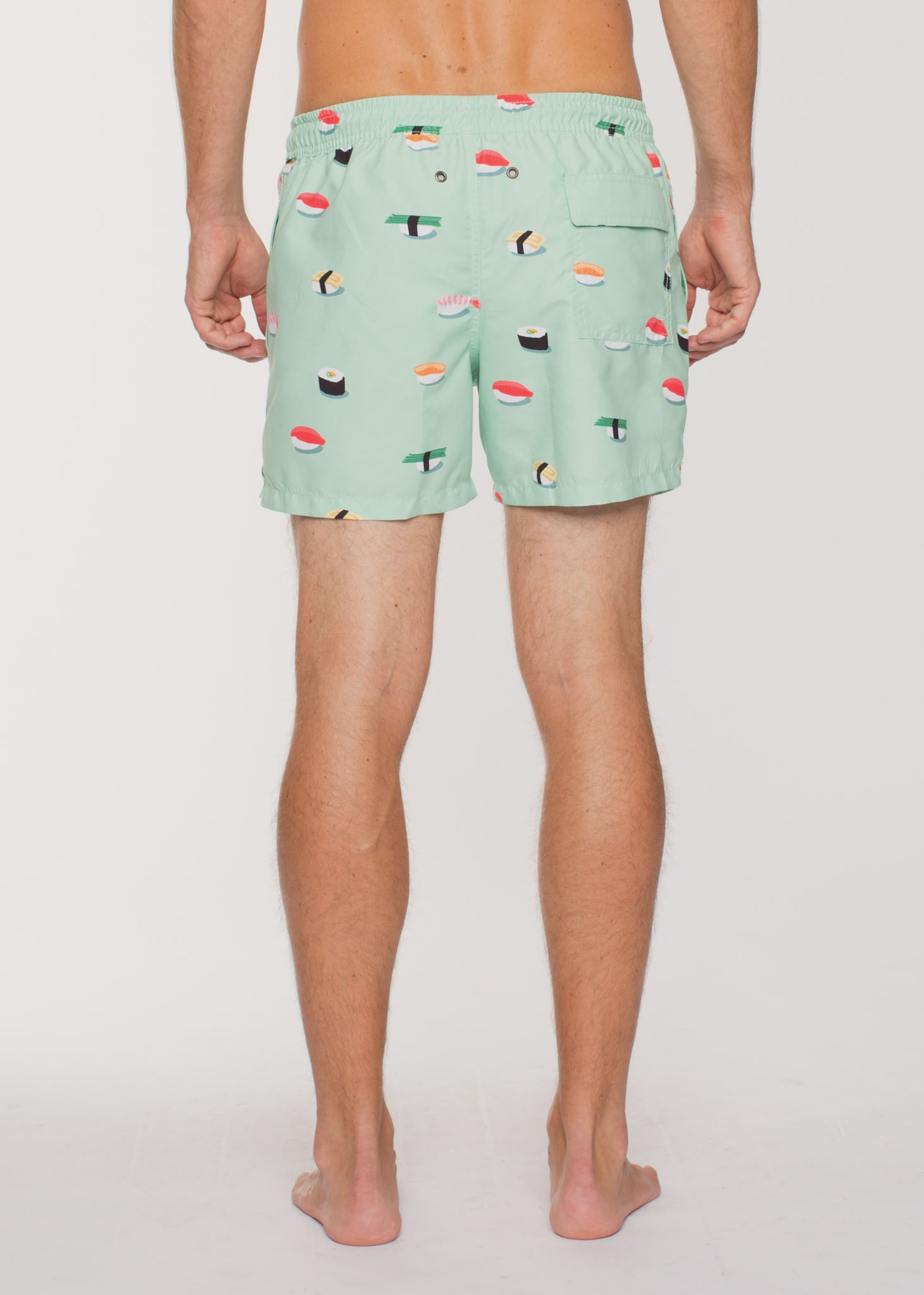 Jiro Swim Shorts Sushi/Green