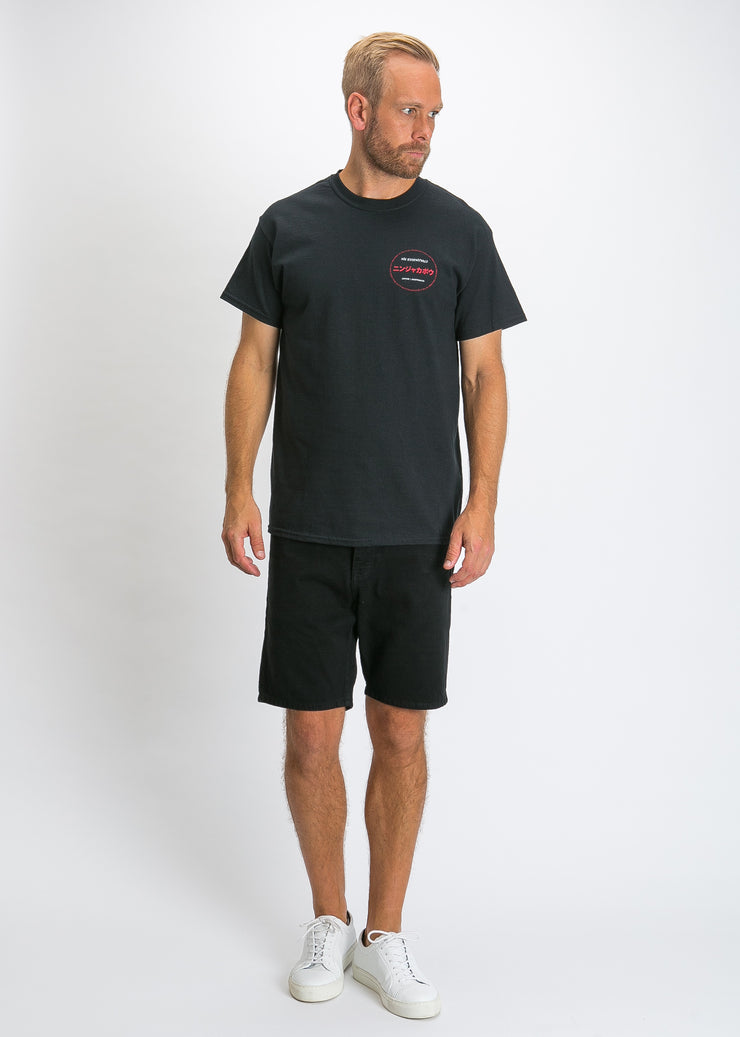 Yo Short Sleeve Tee Black