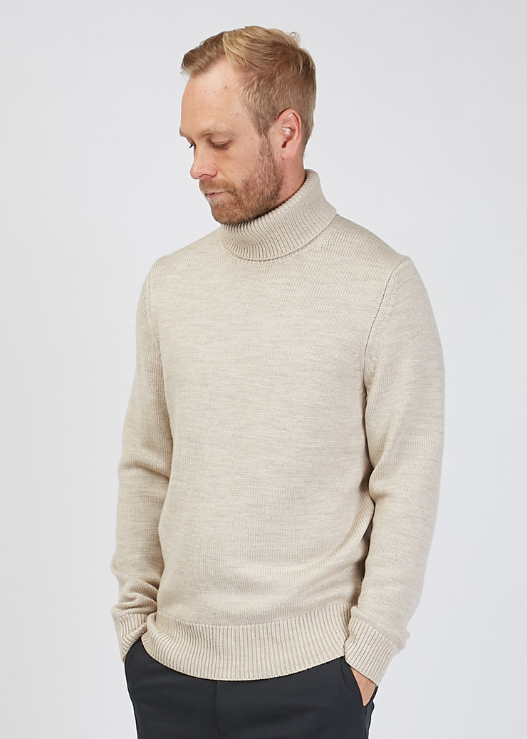Cornelius Roll Neck Knit Natural
