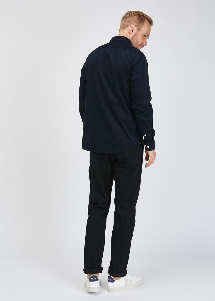 Falko Shirt Navy Blue